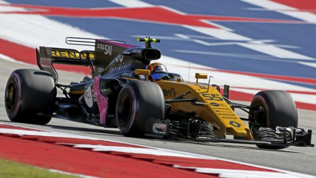 Carlos Sainz, en el GP de EE.UU.