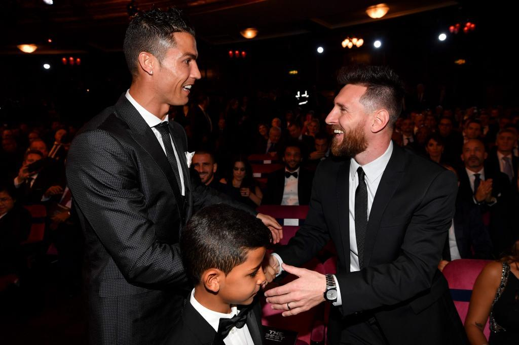 Cristiano Ronaldo Jr. and Messi: The story of a friendship