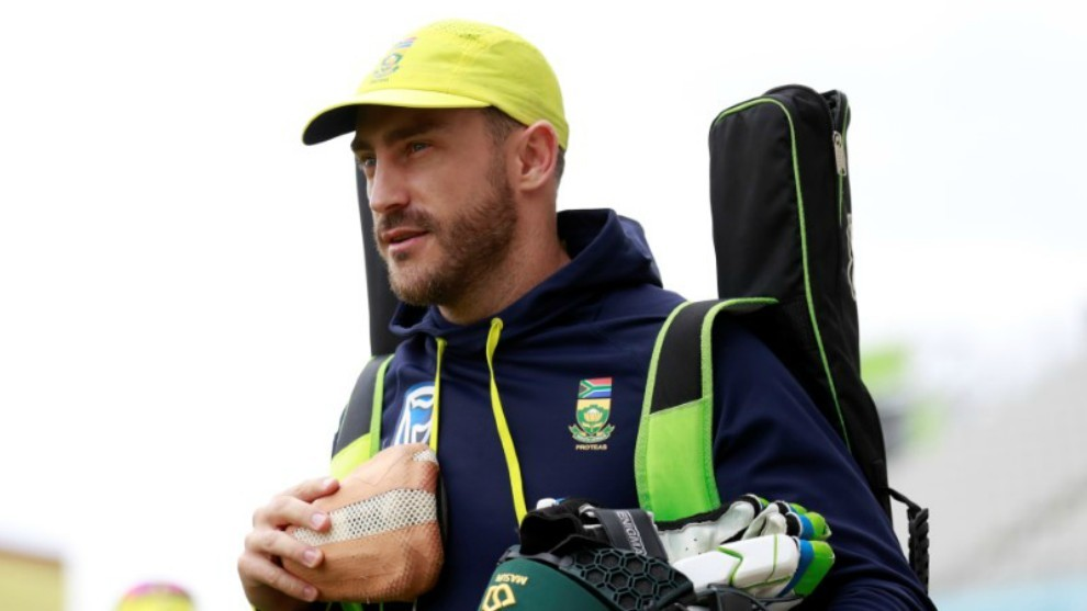 South Africa captain Du Plessis to be fit for Boxing Day test