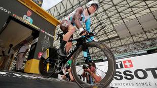 Bakelants durante el pasado Tour de Francia.