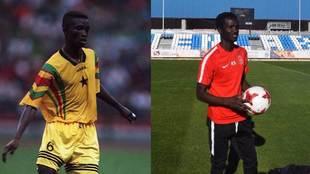 Baba Sule, con Ghana el d�a que se proclam� campe�n del mundo y...