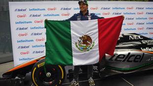 Sergio 'Checo' Pérez, piloto de Force India