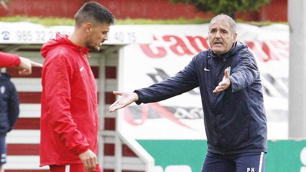 Sporting: Paco Herrera les pone firmes | Marca.com
