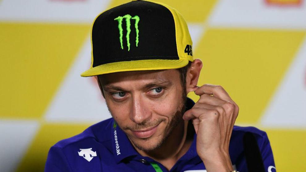 Valentino Rossi, en Sepang este jueves