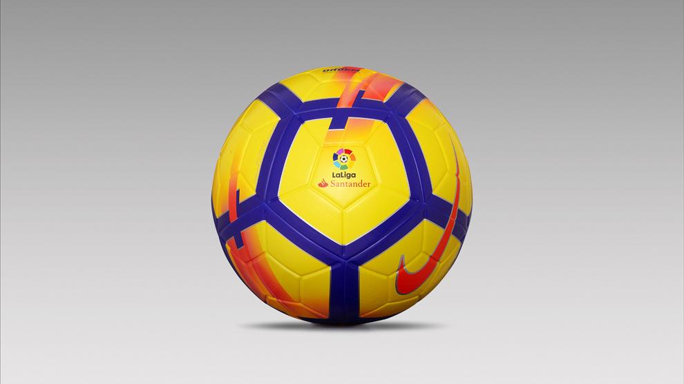 6f896385d1c57 Liga Santander  Así será el balón de invierno de LaLiga