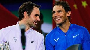 Federer y Nadal,en Shangái