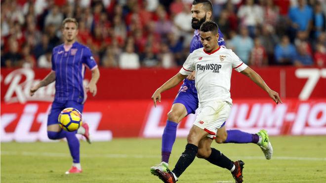 Ben Yedder hace el 1-0 ante el Leganés.