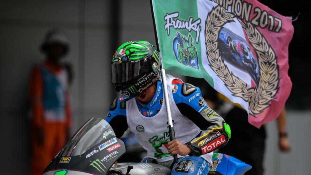 Morbidelli celebra el título de Moto2