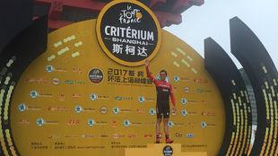 Alberto Contador se ha subido a un podio por �ltima vez como...