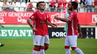 Elady celebra uno de los goles anotados.