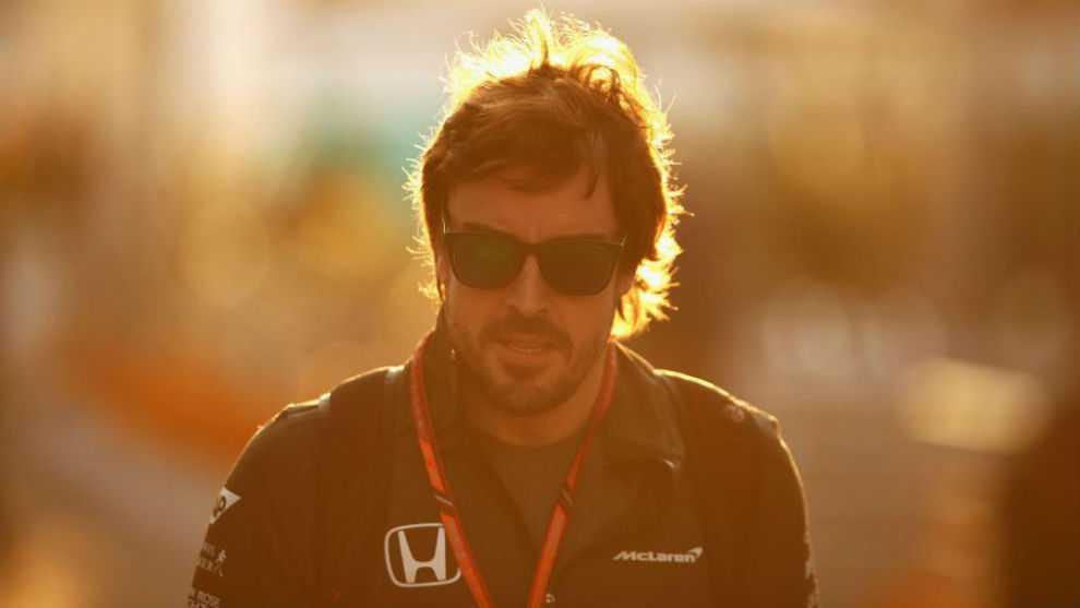 Fernando Alonso, en México