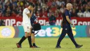 Correa se marcha lesionado en el partido contra el Legan�s.