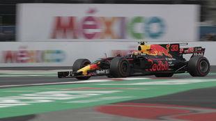 Max Verstappen, en el Autónomos Hermanos Rodríguez