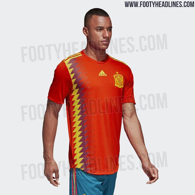 1fa87997e2cf0 Selección de España  Filtran la posible camiseta de la selección ...