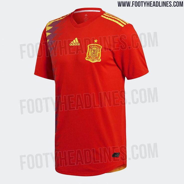 Filtran la posible camiseta de la selección española para el Mundial de  Rusia 9b73e7705a424