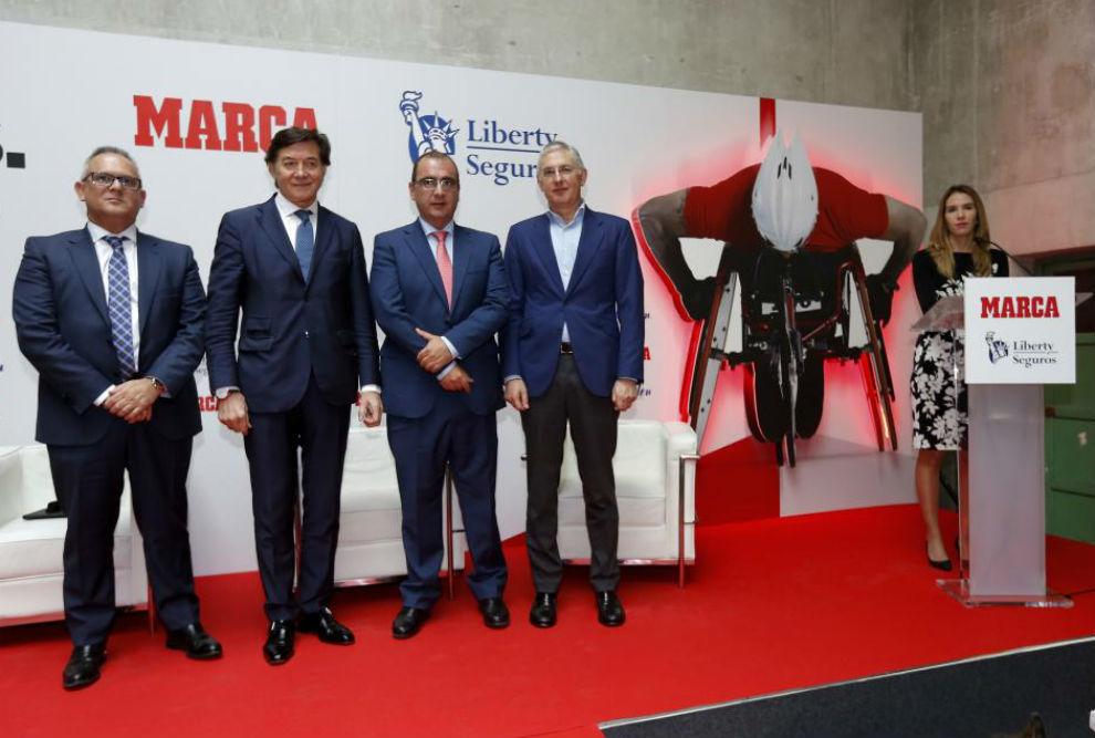 Ángel Luis Gómez, José Ramón Lete, Juan Ignacio Gallardo y Josué...