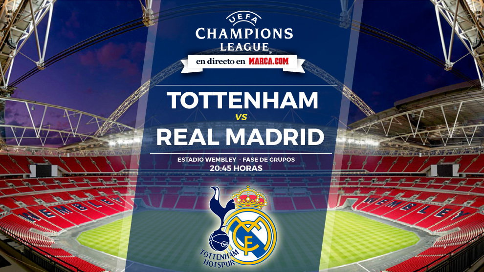Champions league tottenham vs real madrid truco o trato for Futbol real madrid hoy