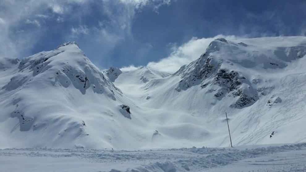 Los centros invernales de valle de Aure y Val Louron, como se aprecia...