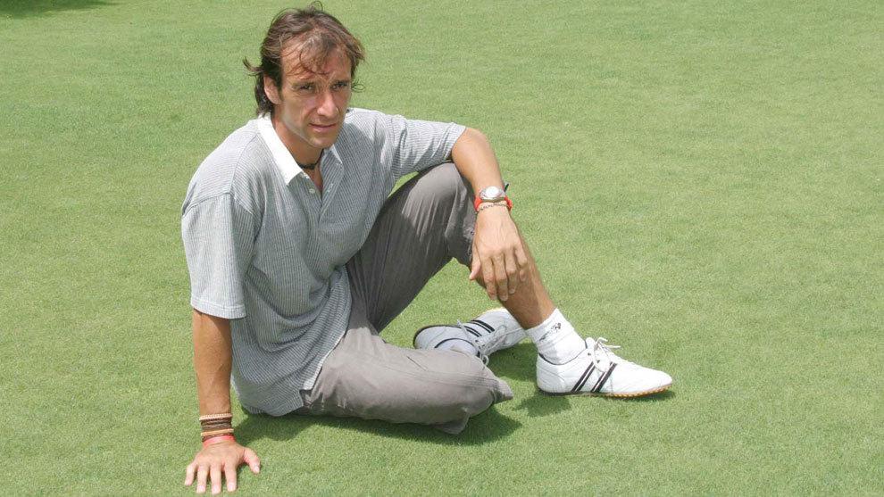 Alfonso Pérez posa para MARCA