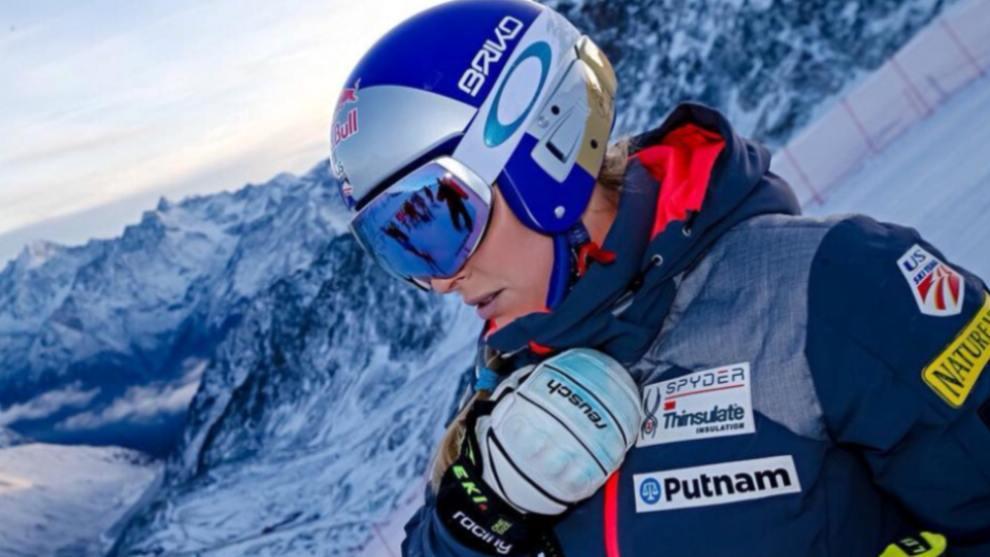 Lindsey Vonn explica cuáles son sus retos antes de colgar los esquís