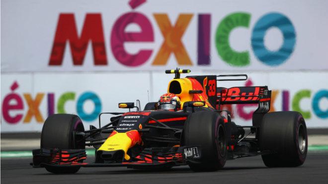 Max Verstappen lidera en solitario el GP de México.