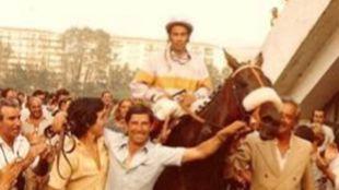 Ramón Mendoza con 'Favallú'.