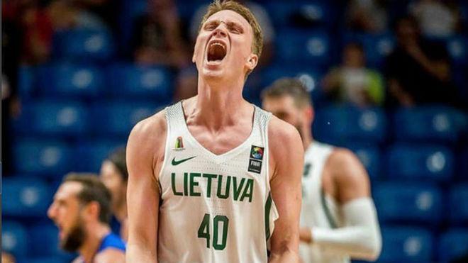 Marius Grigonis será uno de los referentes de los lituanos sin los...