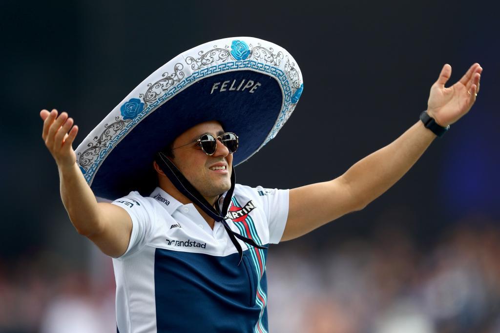 Felipe Massa, en el último GP de México.