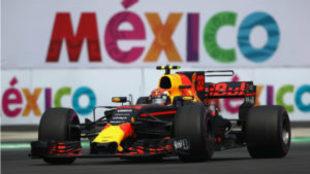 Max Verstappen lidera en solitario el GP de M�xico.