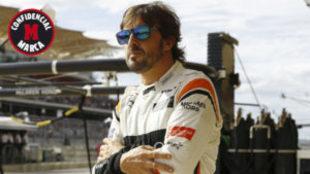 Alonso, en Sepang.