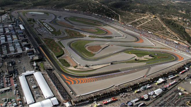 Una imagen aérea del Circuito Ricardo Tormo.