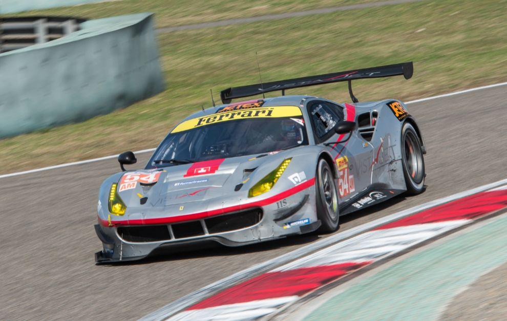El Ferrari de Miguel Molina