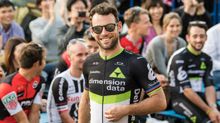 Mark Cavendish, felic�simo vencedor del Crit�rium de Saitama.