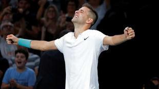 Krajinovic celebra el triunfo