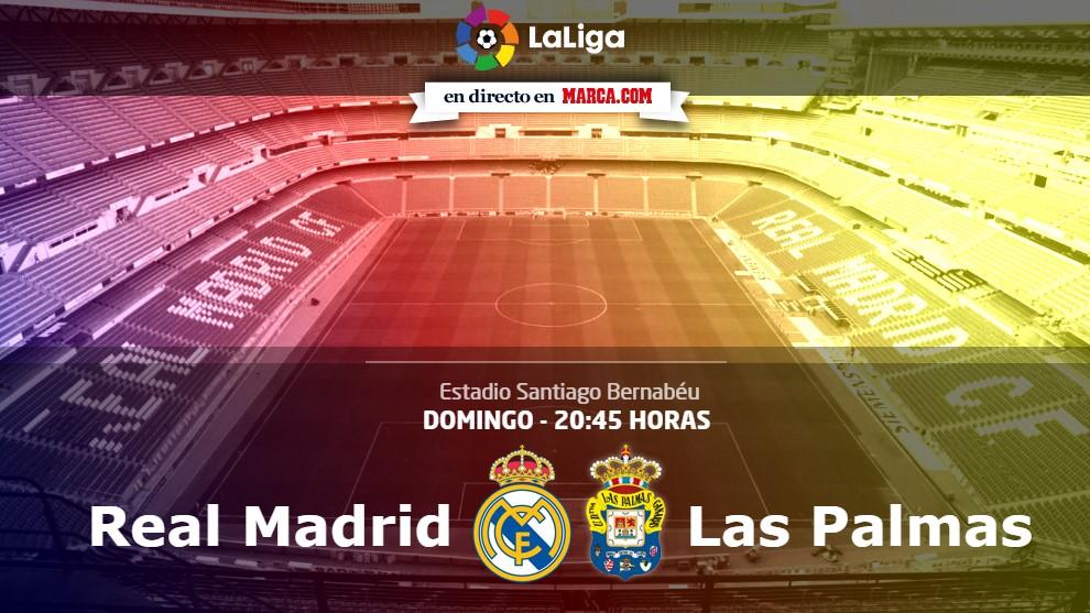 Madrid y Las Palmas se verán las caras a las 20.45 horas