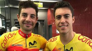 Mora y Torres, antes de iniciar una prueba