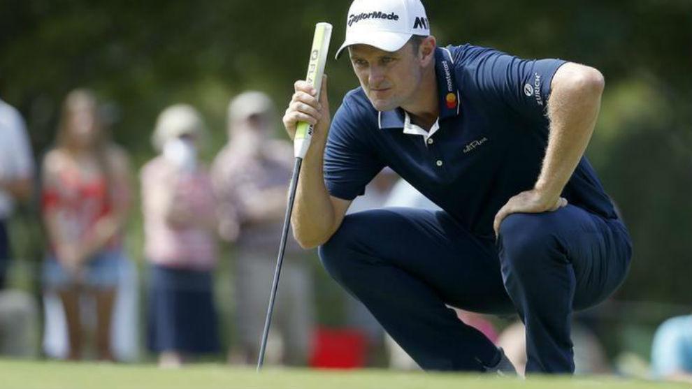 Justin Rose, durante el Tour Champions del PGA Tour.