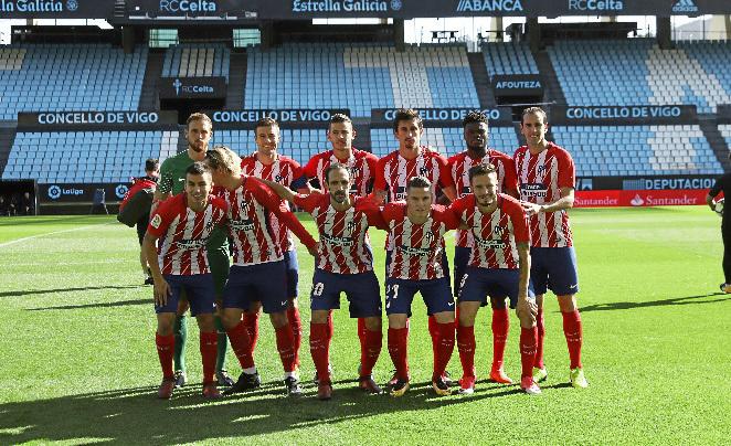 Griezmann also dodged the team photo at Celta