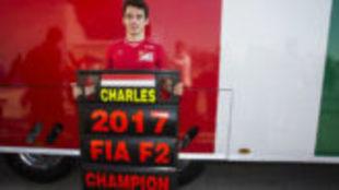 Charles Leclerc, campe�n de la F2 en 2017