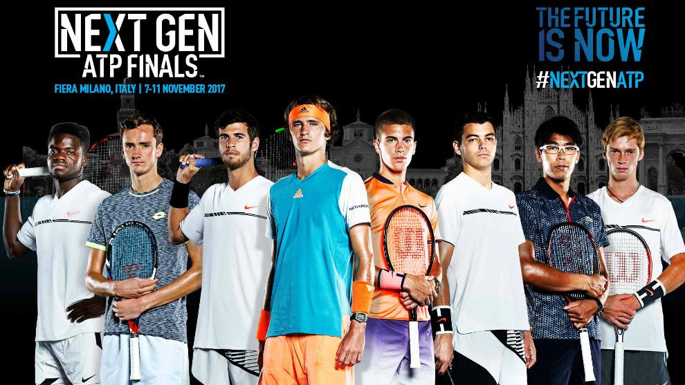 Cartel anunciador de las Next Gen ATP Finals