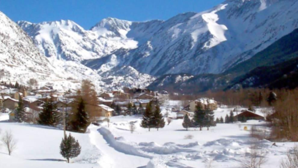 La estación francesa destaca por la gran cantidad de nieve toda la...
