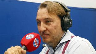 Quico Catal�n, en una entrevista en Radio MARCA.