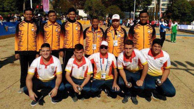 La selección juvenil en el Mundial.
