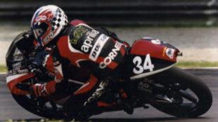 Andrea Dovizioso, en 2001