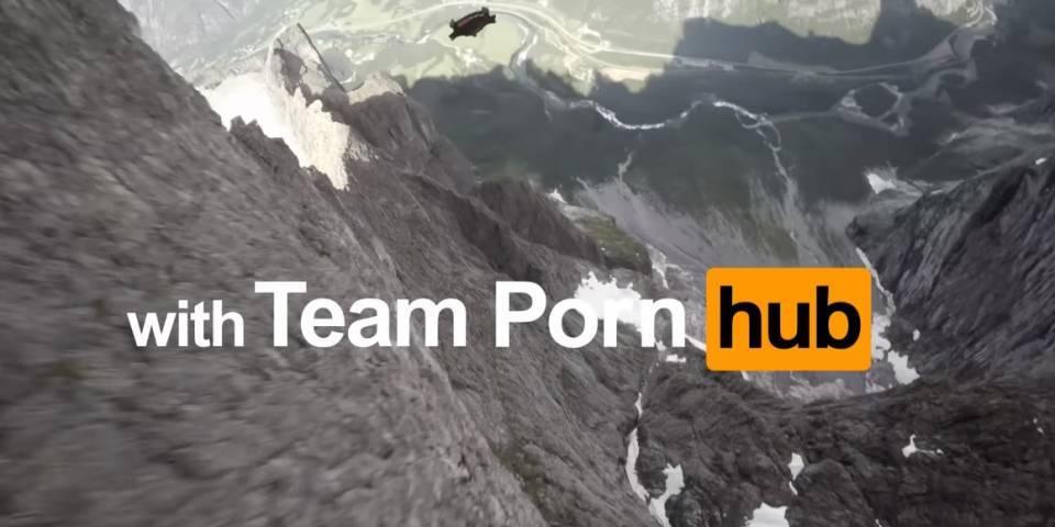PornHub ya se deja ver en algunos equipos de salto base