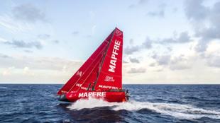 El Mapfre, durante la tercera jornada de la etapa