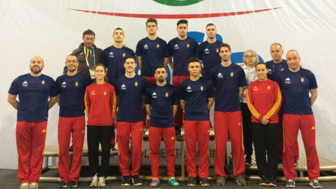 La selección española que competirá en los Mundiales de trampolín