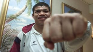 Ronald Gómez posando para MARCA