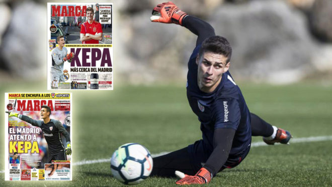 Kepa se acerca al Real Madrid