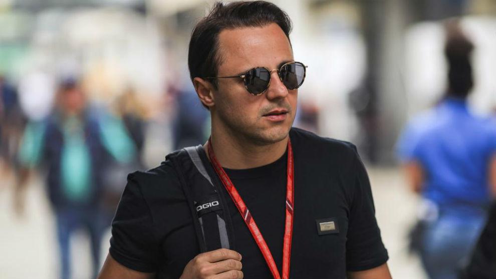 Felipe Massa, en el circuito de Interlagos este jueves